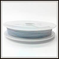 Ланка (ювелирный тросик) диам. 0,38 мм цвет белый
