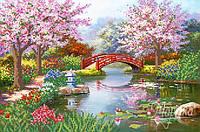 Схема для вышивки бисером Японский сад РКП-127