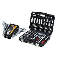Набор инструментов 108 ед. Marshal MT-4108 + набор ключей  комбинированных 12 ед. Miol 51-710