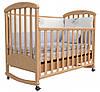 Детская кроватка Соня ЛД 9 (бук)