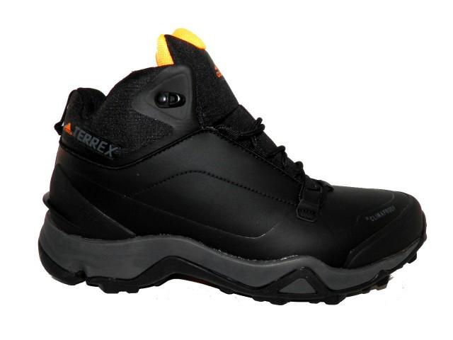 Кроссовки зимние Adidas ( Реплика) 818-2 черный