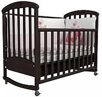 Детская кроватка Соня ЛД 9 (орех)