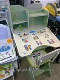 Детская парта со стульчиком трансформер Bambi HB 2071-03 (стол-парта-растишка, 5 положений) КИЕВ, фото 4