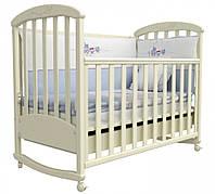 Детская кроватка Соня ЛД 9 (слоновая кость)
