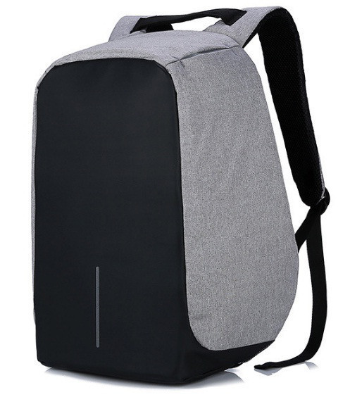 "Городской рюкзак антивор под ноутбук 15,6"" Бобби Bobby с USB"