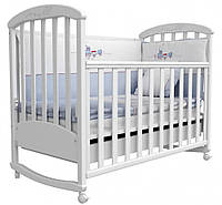 Детская кроватка Соня ЛД 9 (белый)