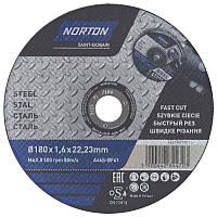 Диск відрізний по металу Norton 230х2, 5х22.2 (44365)
