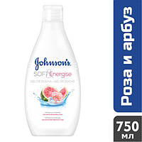 Гель для душа Johnson's Роза-арбуз, 750 мл