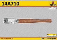Стеклорез Topex, поворотная головка с 6 лезвиями,  TOPEX  14A710