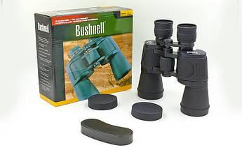 Бинокль BUSHNELL 20х50 (пластик, стекло, PVC-чехол), (JXC750, 7х50) Replika