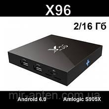 X96 Smart TV Box 4K S905W 2GB/16GB Android