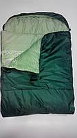 Спальный мешок в компрессионном чехле (одеяло с капюшоном-150) весна-лето