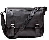 Мужская сумка через плечо TIDING BAG 6046 Черная