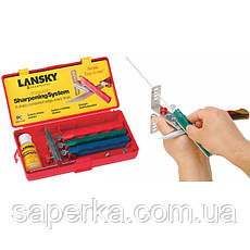 Точилка для ножей Lansky Deluxe Diamond Knife Sharpening System LNLKDMD, фото 3