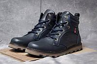 64f64914 Зимние ботинки на меху Levi's Genuine, темно-синий (30851), [ 45