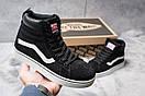 Зимние кроссовки  на меху Vans Old School Winter, черные (30725) размеры в наличии ► [  36 38 39  ], фото 2