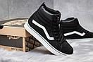 Зимние кроссовки  на меху Vans Old School Winter, черные (30725) размеры в наличии ► [  36 38 39  ], фото 5