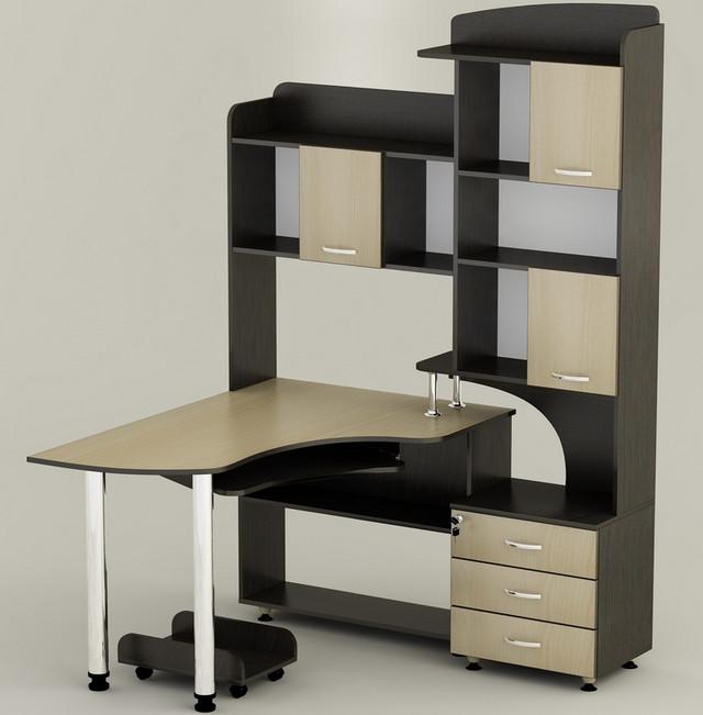 Компьютерный угловой стол ''Вельс''