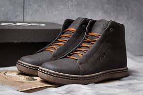 Зимние ботинки  на мехуEcco SSS Shoes, коричневые (30793) размеры в наличии ► [  40 (последняя пара)  ]
