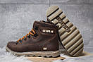 Зимние ботинки  на меху CAT Caterpilar, коричневые (30752) размеры в наличии ► [  40 42  ], фото 4
