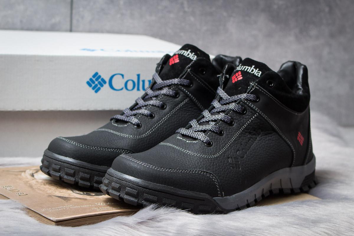 Зимние ботинки  на меху Columbia Track III, черные (30831) размеры в наличии ► [  40 43  ]