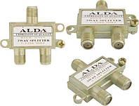 Сплиттер, разветвитель антенный ALDA на 2 ТВ
