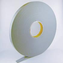 Двухсторонний скотч на вспененной основе 6 мм для крепления карманов к стендам