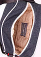 Сумка мужская джинсовая на плечо POOLPARTY pool-18-jeans синяя  , фото 3