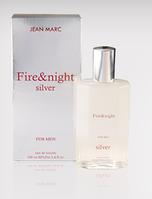 Мужская туалетная вода Fire & Night Silver 100 ml
