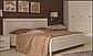 Белла кровать 180 профиль с мягкой спинкой и каркасом  Миро Марк, фото 9