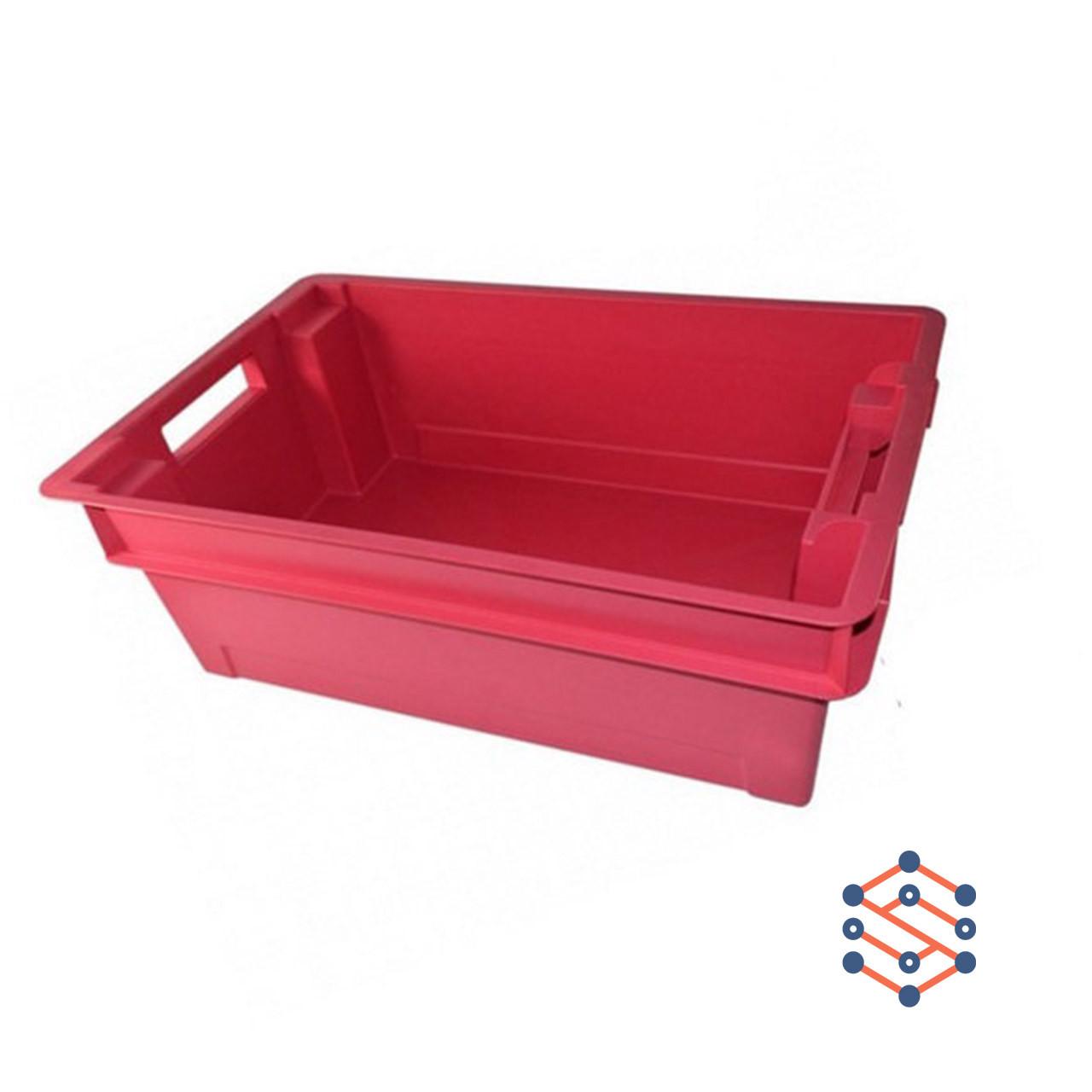 Пластиковый ящик сплошной 600х400х200 мм