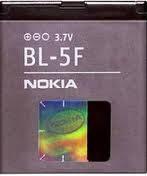 Купить аккумулятор для Nokia  BL-5F (оригинал).Аксессуары для мобильных телефонов. АКБ.