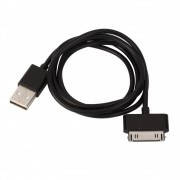 USB Data кабель для iPhone 4, iPod, IPad, чёрный