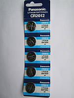 Батарейки Panasonic CR2012