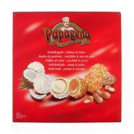 """Вафельные конфеты """"Papagena"""" с арахисовым и кокосовым кремом 300g"""