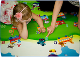"Детский развивающий коврик ""Всезнайка"" 1.8*2,0 м, фото 5"