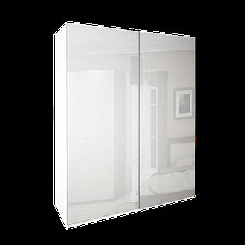 Шкаф-купе Белла 200 см (белый глянец)  MiroMark