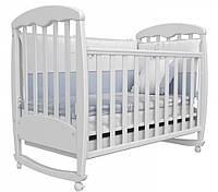 Детская кроватка Соня ЛД 1 (белый)