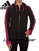 Толстовка спортивная, женская Adidas SWEATSHIRT RL 3S HOODY Q4 P90068 адидас