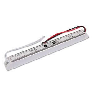 Блок питания 18W для светодиодной ленты DC12 1,5 А LTR-18 stick