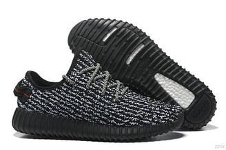 Оригинальные мужские кроссовки Adidas Yeezy Boost 350 Pirate Black | Адидас буст 350 черные пират