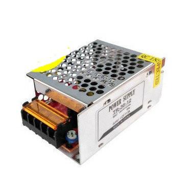 Блок живлення 36W для світлодіодної стрічки DC12 3А TR-36 металевий