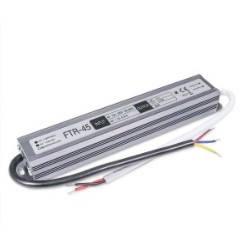 Блок питания 45W для светодиодной ленты DC12 3,75А WP герметичный, алюминиевый