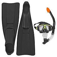 Ласты для плавания Intex 55934 Спорт Черный (int55934)