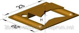 Кляймер для кріплення настінних панелей (MDF, пласт, вагонки і т. д.), фото 2