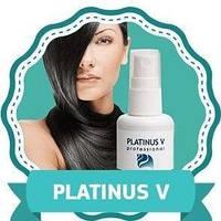 Platinus V раствор-спрей для роста волос, Платинус В спрей для ускорения роста волос, спрей для лечения лысины