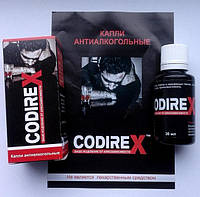 Codirex Капли от алкоголизма, Кодирекс капли от алкоголизма, капли против алкоголя, лечение алкоголизма
