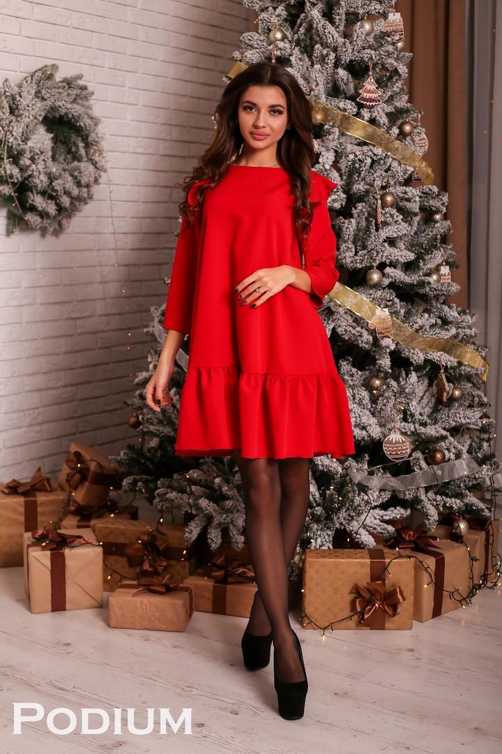 Платье Фея, костюмка.  Размер: С,М. Разные цвета (5289)