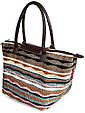 Пляжная вельветовая сумка POOLPARTY pool80-velvet-brown, фото 2