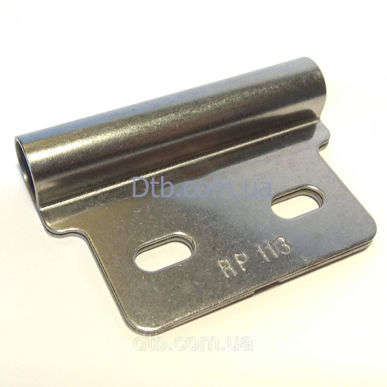 Накладка роликовая нержавеющая RP113 - роликодержатель Alutech